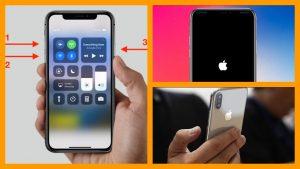 iPhone X Force Restart