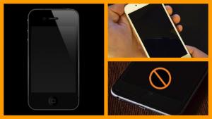 iPhone Screen Black and Unresponsive