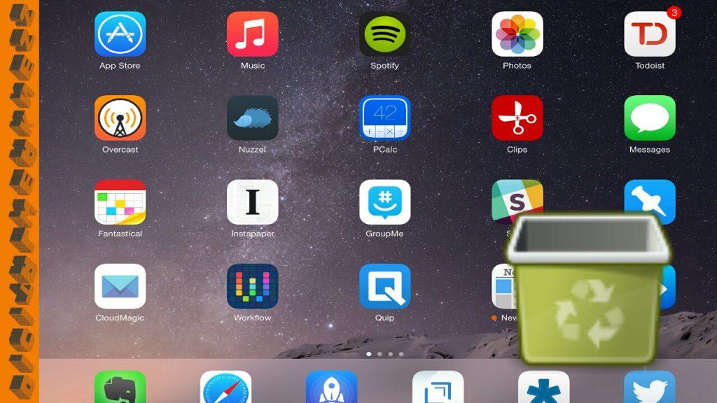 Delete ipad apps