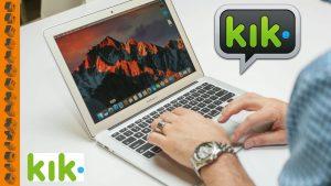Kik online for PC MAC