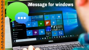 Send imessage from your PC