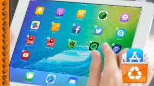 ipad remove apps