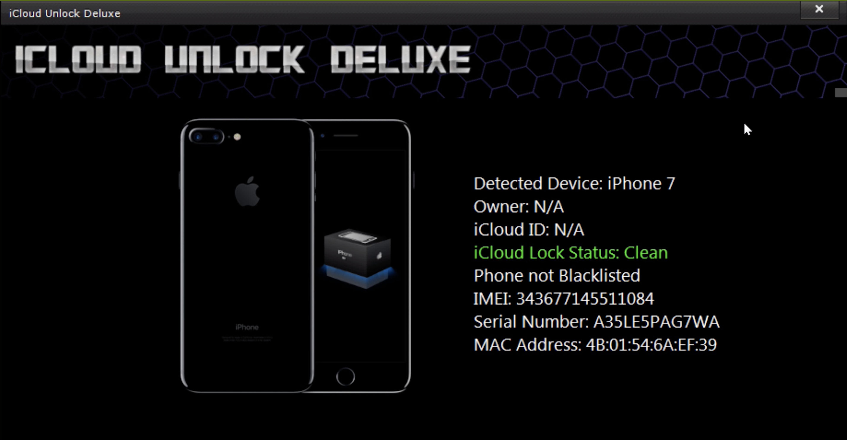 iCloud Unlock Deluxe Finished