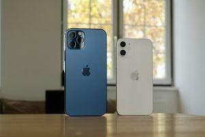 iphone 12, smartphones, table